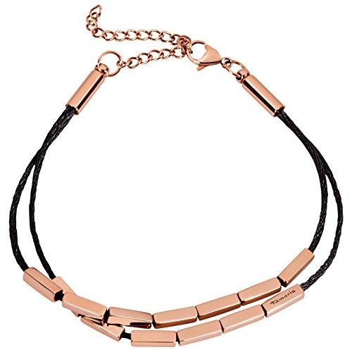 Tamaris-Damen-Armband-Lynn-Edelstahl-Stoff-24-cm-A01032000