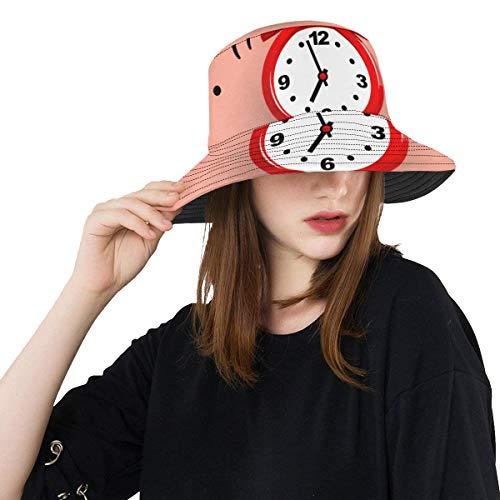 Bucket Hat Reloj Despertador Juvenil Hora despertarse