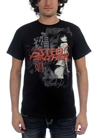 Steel Panther - - Hooker Herren Kurzarm T-Shirt in schwarz, Small, Black