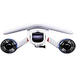 ZUKN Scooter sous-Marin, hélice Submersible, Booster sous-Marin, Profondeur extrême 131FT, Support caméra sous-Marine/Chambre de flottabilité