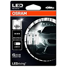 Osram 2850CW-02B LEDriving LED Retrofit W5W Luz Interior 6000K, Blister Doble