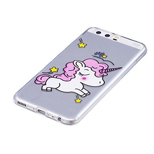 Qiaogle Telefon Case - Weiche TPU Case Silikon Schutzhülle Cover für Apple iPhone 7 / iPhone 8 (4.7 inch) - LF28 / Pferd LF28 / Pferd