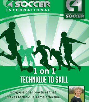 Konzept 4footballc4s-6& # x202F;: 1auf 1Technik auf Skill & # x202F;: Gwyn Berry Konzept 4Fußball International DVD
