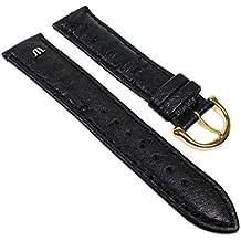 Maurice Lacroix ML-22624-20G - Correa para reloj, color negro