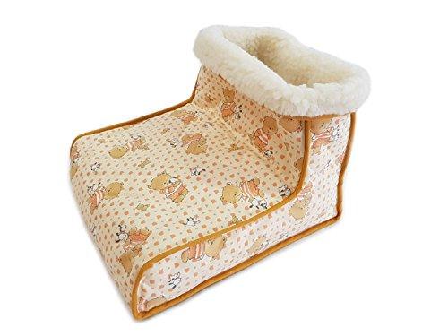 Il pantofolone in 100% pura lana merinos cuscino scaldapiedi con scaldino contenente noccioli di ciliegia, antistress, riscaldante per piedi sempre caldi e ben protetti