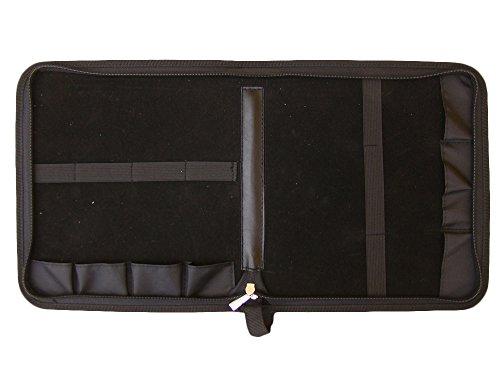 Profi Bonsai-Werkzeugset | Hochwertiges Edelstahl-Werkzeug | 7-Teiliges Set | Inkl. Leder-Werkzeugtasche