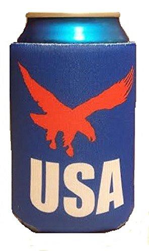 Patriotische USA können Kühler-Steigende Eagle-faltbar Schaumstoff Dosenkühler für Bier Dosen (Party Day Memorial City)