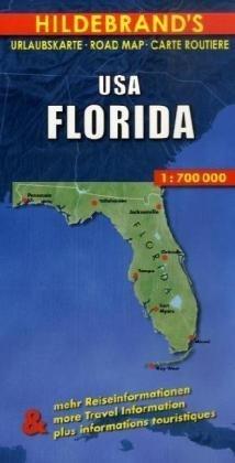 Carte routière : USA, Florida par Carte Hildebrand