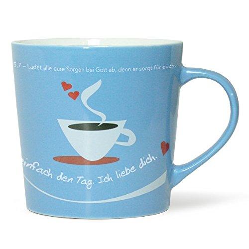 """""""Guten Morgen, hier spricht Gott"""" - Tasse"""