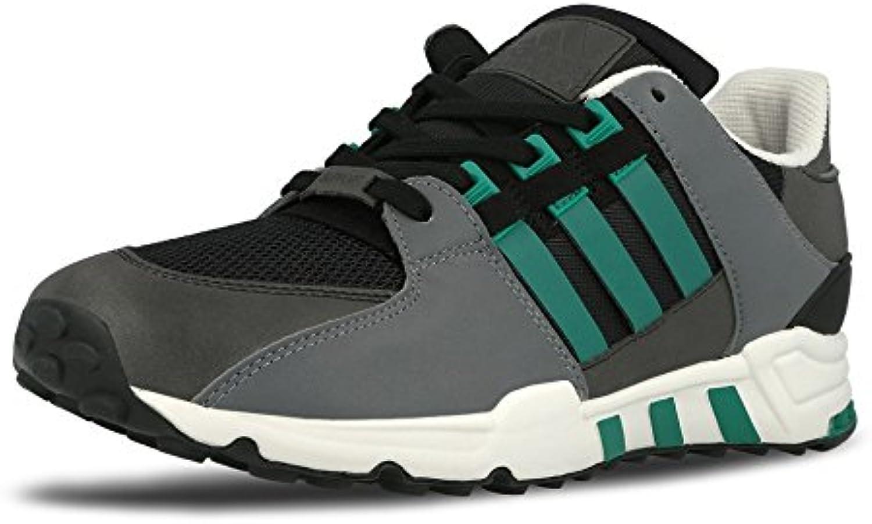 adidas Schuhe – Equipment Running Support schwarz/grün/weiß Größe: 43 1/3 -