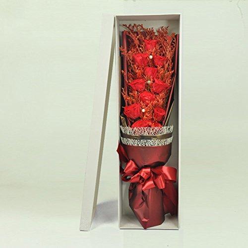 -box/Nelke Hand Strauß Rosen/Valentine-E ()