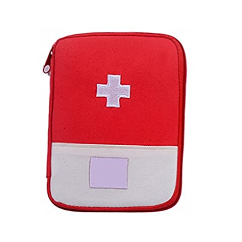 QHGstore Medical Bag Emergency Survival Erste Hilfe Kit Tasche Home Reisen Camping blau L