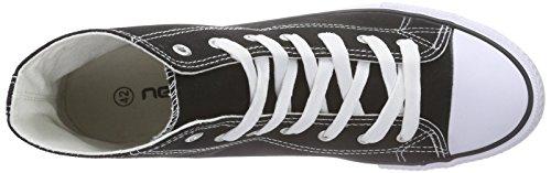 Nebulus Jersey, Sneakers Hautes Homme Noir (Black)