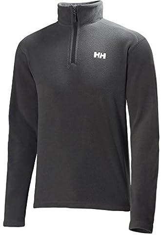 2017 Helly Hansen Mens Daybreaker 1/2 Zip Fleece Ebony 50844 Size - - Small