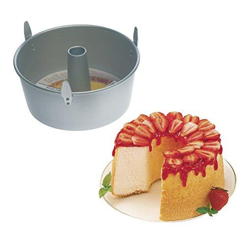 comprare on line Wilton Angel Food Forma, 25.4 cm x10 cm, Alluminio, Griggio prezzo