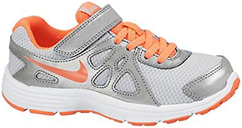 chaussures de sport nike 555091 petit 28 et demi petit 555091 argent métallique; c08848