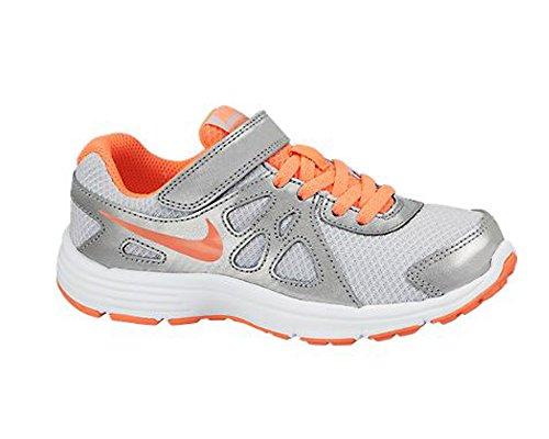 Nike Revolution 2 Psv Chaussures Argent / Orange