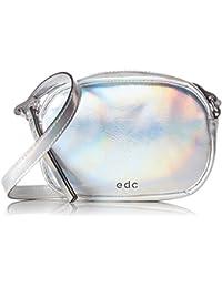 edc by Esprit 077ca1o003, Sacs portés épaule femme, Grau (Silver), 3,5x11x16 cm (L x H P)