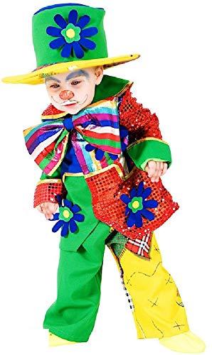 ere Jungen Mädchen Zirkus Clown Karneval Halloween Kostüm Outfit ()