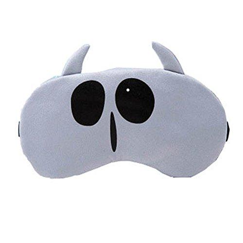 Schlafmaske Schlafenaugen-Abdeckung Super-Smooth Augenmaske für Reise, Hellgrau