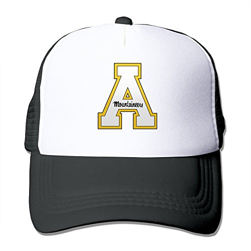 Fitty area Appalachian State Mountaineers Athletic Teams Snapback Cool Hat Outdoor Black Black