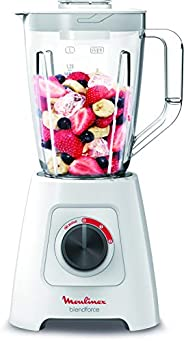 Moulinex Blender BlendForce 2 600W, LM423127, White, 1 Year Brand Warranty