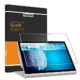 Adeway Microsoft Surface Book 2 (15 Zoll),Schutzfolie [HD gehärtetes Glas] Hohe Antwort Anti-Scratch Einfache Installation Displayschutzfolie für Surface Book 2-15 Zoll