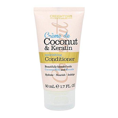 Crème de Coconut & Keratin - crème nourrissante pour le voyage - format mini de 50 ml
