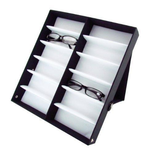 12 f cher brillendisplay brillenbox pr sentationsst nder. Black Bedroom Furniture Sets. Home Design Ideas