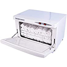 2 EN 1 30L Calor Toalla Calentador Ozono Toalla Esterilizador Gabinete con UV Esterilizante Facial Piel