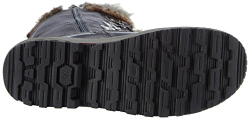 s.Oliver 26616 Damen Gefütterte Stiefel Blau (NAVY COMB. 891)