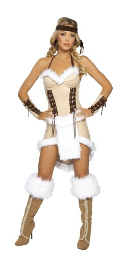 Indianerin - Häuptlingstochter Kostüm - XS-S