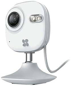 Ezviz C2 mini Videocamera Multifunzione da Interno con Visione Notturna 10 m, 1 Megapixel, 15 Fps, Wi-Fi, 720P, WI FI e Alloggio MicroSD, Bianco