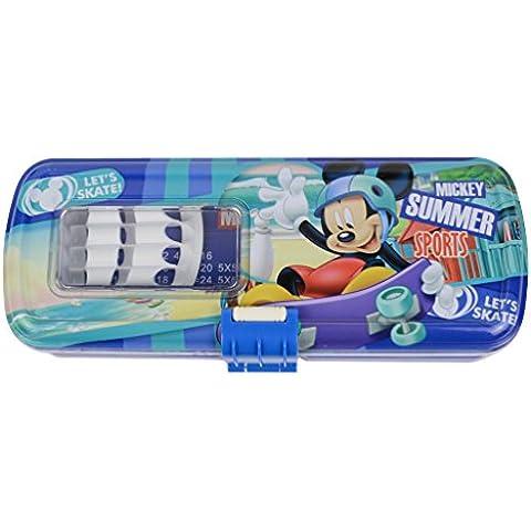 Disney Princesa Sofía Gran Capacidad doble Escritorio Estudiantes caja de lápiz de la pluma de Negocios Titular 82638-07