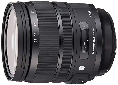 Sigma 24-70mm F2,8 DG OS HSM Art Objektiv (82mm Filtergewinde) für Canon Objektivbajonett