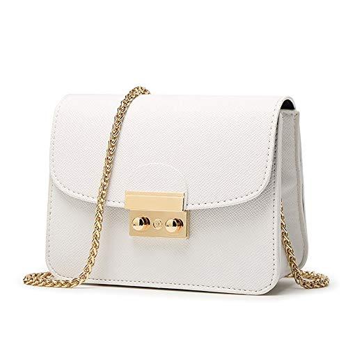 MAICHIHUOY UmhäNgetasche Damen Kleine Schultertasche Citytasche Kette Tasche Band Vintage Damentasche Handtasche Mini Elegant (Bobby Pin Tasche)