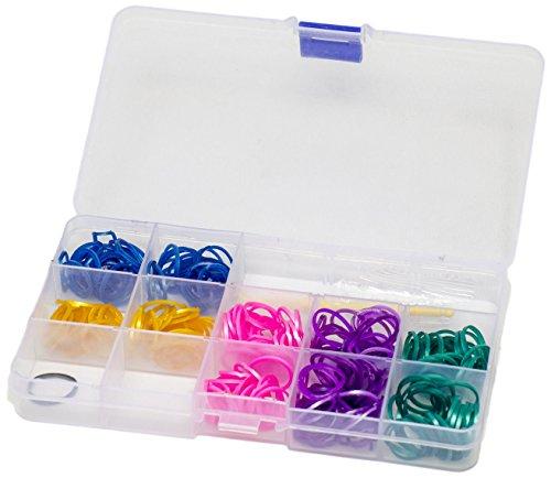 Preisvergleich Produktbild Glow2B Spielwaren 5620084 - Loom's  Box Metallic, 360 Stück