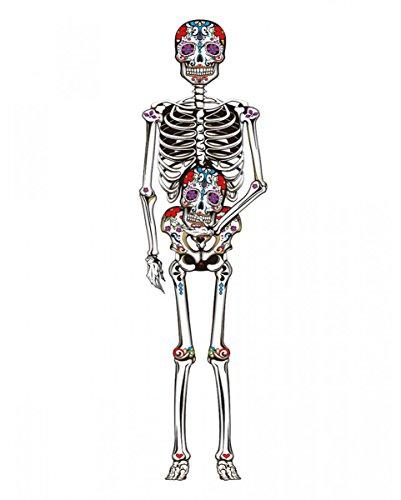 Horror-Shop Dia de los Muertos Dekoration   150cm