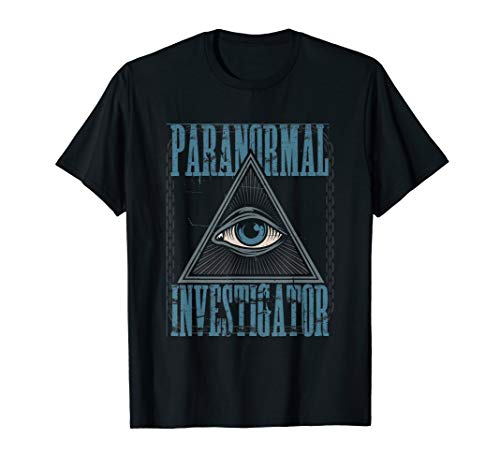 Investigator Kostüm - Paranormal Investigator Geisterjagd Halloween Grusel Kostüm T-Shirt