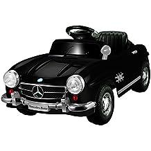 6V, 800mA Mercedes Benz 300SL Coche Eléctrico para niños auto Juguete Negro