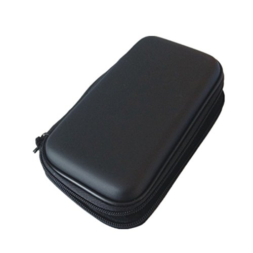 Powerbank-Hülle aus Ethylenvinylacetat PU-Leider, Reisetasche, für USB-Kabel, GPS-Gerät, MP3/MP4 Kopfhörer/Headset