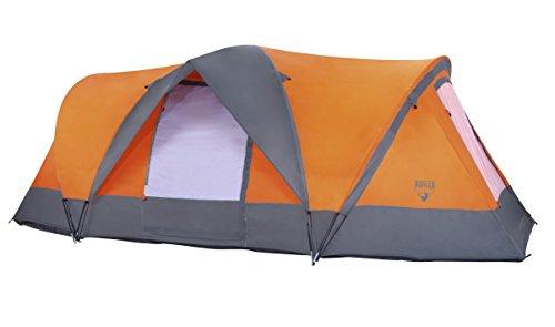 Bestway -68003-Tente Traverse 4 Places 480cm x 210cm h 165m + Avant toît sur entrée latérale