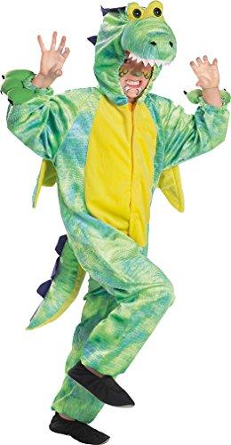 FKW Keller, Drachenkostüm für Kinder von Größe 104 bis 140 cm (Kostüm Keller)
