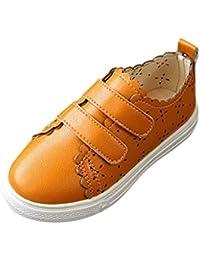 Malloom 3-6 Años Niños Chicos Chicas Niñas de Onda Hueca Zapatillas Zapatos Casuales Sneaker