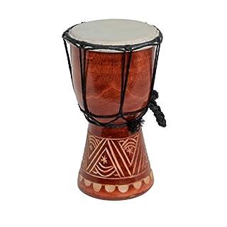Kleine 15cm Djembe Trommel Bongo Drum Dekoration Afrika Style A8