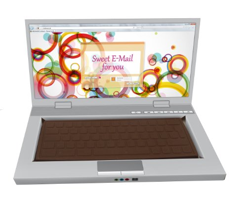 Preisvergleich Produktbild Heilemann Schokoladen Laptop Edelvollmilch,  1er Pack (1 x 300 g)
