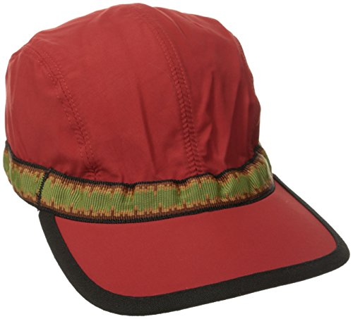 KAVU Synthetic Strap Cap, Red, Medium