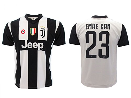 Soccer Football T-Shirt EMRE CAN 23 Juventus Jersey HOME Season 2018-2019 Official REPLICA with LICENSE - All The Sizes BOY and ADULT