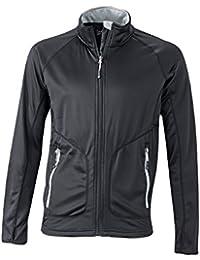James & Nicholson Herren Stretchfleece Jacket Jacke
