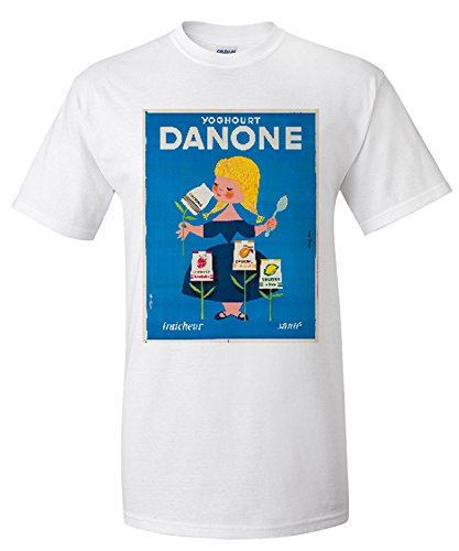 danone-vintage-poster-artist-gauthier-france-c-1955-premium-t-shirt